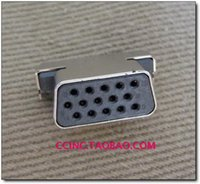 ant connector - Ant displayer card vga socket p plate h4 w20 l11 h7 connector
