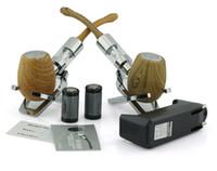 Set Series body kit - Fashion New Kamry E Pipe Mod Wooden K1000 Battery Body Mod E Cig Tanks Atomizer Huge Vapor EPipe K1000 Mechanical Mod E Cigarette Kit