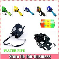Cheap Gas Mask water pipes Best smoking water pipe bongs