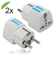 Wholesale Universal Travel Adapter Australia AU USA US UK to EU Plug Wall AC Power Adapter V A Socket Converter