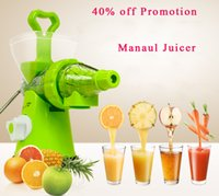Wholesale TOP QUALITY Juicer Manual Hand Powered Wheat grass Juicer fruit juicer