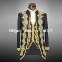 Where to Buy Gold Tuxedo Prom Suit Online? Where Can I Buy Gold ...