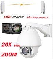 ptz wifi wireless ip camera - HD P Hikvision auto tracking ptz ip camera wireless WIFI security cctv camera IR distance m
