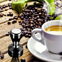 barista espresso - High quality Stainless Steel Coffee Tamper Barista Espresso Tamper Coffee Accessory quot Base DHL H16555
