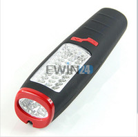 Wholesale 37 LED Flashlight Work light Camping Outdoor Lamp With Built in Magnet and Hook New and Good Quality