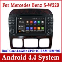 benz phone - Android Car DVD Player for Mercedes Benz S W220 S280 S320 S350 S400 S430 S500 with GPS Navigation Radio BT Stereo