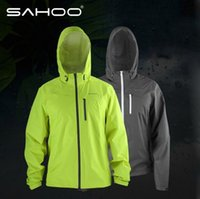 bicycle raincoat yellow - Super Sale SAHOO Outdoor Windproof Waterproof Clothing Bike Bicycle Ultra thin Windbreaker Raincoat Jersey M XXL Color