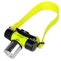 Wholesale DHL Waterpoof Diving Torches Headlamp Headlight Lm CREE XML T6 LED Swimming Waterproof Diving Headlamp