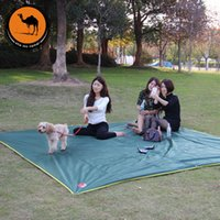 Wholesale Outdoor canopy style mat large ground cloth Oxford cloth outdoor camping picnic mat moisture