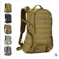 Wholesale Waterproof Molle Backpack Military P Gym School Trekking Ripstop Woodland Tactical Gear for men L Camping bags
