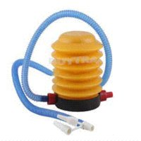 Wholesale 2014 New Energy Saving Foot Air Pump for Inflatable Toys ballons Portable Popular Air Inflator M45439