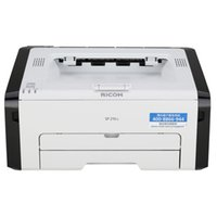 printer ricoh - Ricoh SP210Q student home printer office A4 stickers color laser printer mini printer