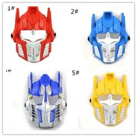 animate parties - Halloween party mask Transformers masks Animated cartoon mask kinds of styles to choose