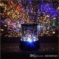 Wholesale Colorful cosmos stars laser LED projector Star Projector Lamp LED Night light lantern