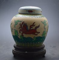 antique porcelain pots - Used Ming Chenghua young flower Doucai Horses unearthed emperor pot to do the old antique porcelain collection
