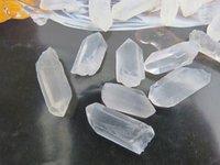 aluminum columns - AAAAA natural crystal nunatak white crystal column crystal decoration column energy g
