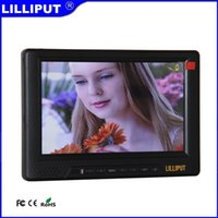 Wholesale Lilliput GL Field Monitor for DSLR HD Video Camera P Internal Battery HDMI Component Composite Input