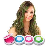Wholesale HOT Selling set Hot Hair Chalk Soft Fencai Color Dye Pastel Chalk Compacts