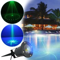 Wholesale Special Green Blue in1 in1 in1 in1 outdoor christmas laser lights laser stage lighting projector pattern laser light show projector