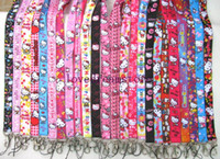 Wholesale Mixed Hello Kitty mobile Phone lanyard Keychain straps charms