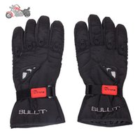 Wholesale motorcycle gloves Men Women in Winter Feel Warm Full Finger racing glove High Quality luvas para moto l xl