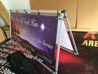 banner display frames - Outdoor A Frame PVC Banners Display80x200cm TWO SIDES printing Banner Stand W Banner Printing