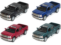 toy fire truck - Kid Toys Colecionaveis Car Styling Die cast Model Car Brinquedos For Silverado Pick up Fire Truck Alloy Toys Gift Display