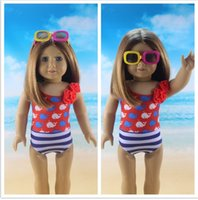 Cotton alexander doll clothes - 2016 New style Popular Beauty American Girl Doll Summer Swimming Clothes Fits For quot American Girl Doll Alexander Girl s Dolls