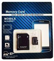 al por mayor tarjeta sd 16gb envío libre-Tarjeta de 16 GB 32 GB 64 GB Micro SD tarjeta SD SDHC SDXC USH-1 Clase 10 TF tarjeta Micro + Adaptador SD con el envío libre del paquete al por menor