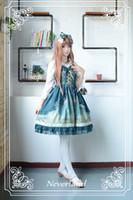 arabian nights costumes - Neverland Mystery Arabian Night Printed Sleeveless Lolita Jumper Skirt for Girl