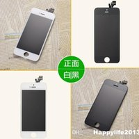 Cheap LCD Screens High Quality LCD Frame Assembly Display Touch Screen With Digitizer Replacement For iPhone 5
