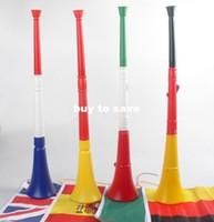 vuvuzela horn - FAST SHIPPING Long VUVUZELA Football fan cheering horn football trumpet loudspeaker cm