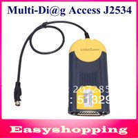 actia interface - Top Rated v2013 actia Multi Di g Multi Diag Access J2534 Pass Thru OBD2 Device MultiDiag J2534 Diagnostic Interface