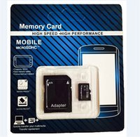 128mb micro sd card - 2015 new arrival GB GB GB Class Micro SD Card for cellphones tablets digital camera Free SD Adapter SDHC