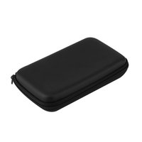 Wholesale Shockproof Carry Bag Game Hard Case Pouch Button Anti shock Protective Organizer For Nintendo DSXL Black