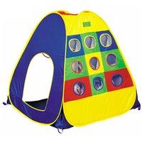 Wholesale New Children Kids Adventure Big Game Play Tent Ball Hoop In Outdoor K5BO