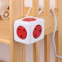 electrical outlets - PowerCube Extended Universal Electrical Outlet Plugs Socket Adapter ft Extension Cord Power Strip with Outlets V A UK H15178