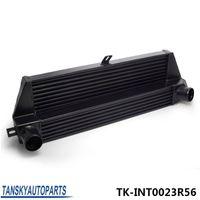 bmw parts - TANSKY FOR BMW MINI COOPER S L LIGHTWEIGHT BLACK ALUMINIUM FRONT MOUNT INTERCOOLER CORE FMIC TK INT0023R56