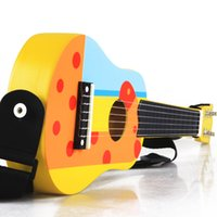 Wholesale Wooden toy guitar folk small mini guitars musical instrument