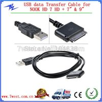 Cheap USB sync and charge data cable for Nook HD NOOK HD+ DHL free