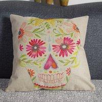 Cheap Skull Pillowcase Best Cushion Cover