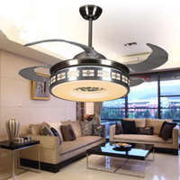 Wholesale Home Elegance quot Flushmount Ceiling Fan with light for dining room fancy ceiling lamp with fan