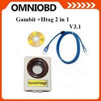 Más caliente 2 en 1 programador clave Gambit + Hitag2 V3 clave programador para los transpondedores RFID de programación para MB envío