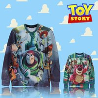 Women toy story clothing - Raisevern First issue Toy Story woody bear print sweatshirt cute cartoon hoodie hood boy girl popular streetwear top clothes