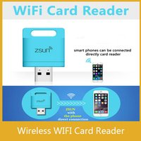 mobile card memory - Zsun Wireless Wifi Card Reader Extended Phone Memory U Disk Mobile Storage USB Flash Drive For Android IOS Windows Phone