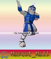 adult spartan costume - MALL58 Professional Blue Titan Spartan Trojan Knight Mascot Cartoon Costume Outfits Character Fancy Dress Costumes Adults Carnival