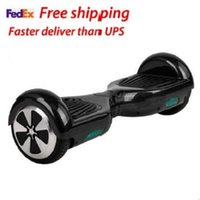Wholesale 6 inch Hover Board Balance Hoverboard Skateboard Speaker With Samsung Battery oxboard scooter hoover board