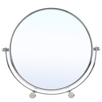 bathroom vanity desk - ANSELF Inch x Magnification Round Shape Bathroom Bedroom Makeup Vanity Desk Mirror Rotating Double Sides Makeup Mirror