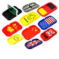 anti slip tray - Automotive Instrument Desk Iphone Samsung Mobile Navigation Silicone Anti Slip Mat Tray Incense Seat Cushion