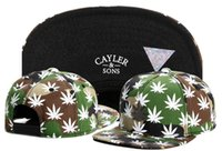 baseball lids - Cayler Sons Gl Best Budz Snapback Hat Maple Leaf Adjustable Baseball Caps Fashion Lids Snapbacks Ball Cap Hip Hop Hats